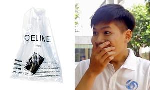 Giới trẻ Sài Gòn nói về trào lưu xách túi nylon giá chục triệu