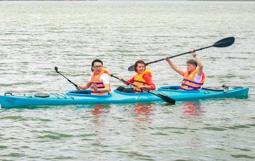 Cả ba có nhiều hoạt động, trải nghiệm ở Đà Lạt.