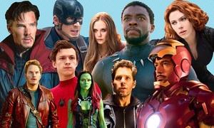 Năng lực dàn người hùng Marvel trong đại chiến với Thanos