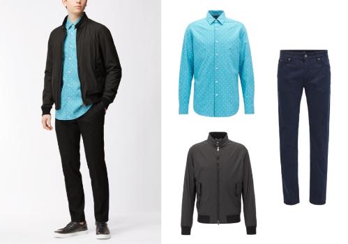 Trong các chuyến đi xa, đặc biệt là ra nước ngoài, các chàng nên mang theo bên mình chiếc áo khoác mỏng để đề phòng thời tiết có thể thay đổi thất thường. Một chiếc áo sơ mi kết hợp cùng quần jeans, kaki và áo khoác mỏng thích hợp với nhiều hoàn cảnh như dạo phố, đi làm, hẹn hò...