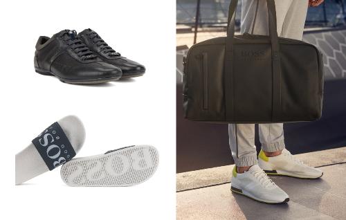 Bên cạnh trang phục, nếu chọn giày dép phù hợp, bạn sẽ khiến tổng thể bộ đồ của mình trông chấthơn. Dép tông, sandal hay giày lười đều là những loại giày dép tiện dụng và có tính cơ động cao nên thường được lựa chọn cho các chuyến đi, đặc biệt là các kỳ nghỉ ở biển. Vì vậy, bạn có thể khám phá những thiết kế dép tông lấy cảm hứng từ biển khơi của BOSS. Giày lười phù hợp với set đồ sơ mi và quần short trong những buổi dạo phố, các bữa tối có phần sang trọng tại nhà hàng. Bạn cũng có thể chọn những đôi sandal hay nhiều quai ngang thời trang để hoàn thiện set đồ của mình