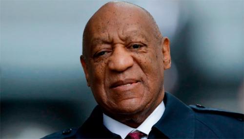 Bill Cosby tại phiên tòa ngày 26/4. Ảnh: AP.