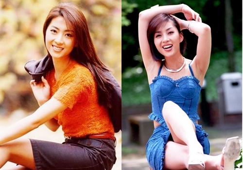 Vẻ sắc sảo, năng độngcủa diễn viên trên tạp chí. Cô được nhiều người Hàn gọi là Nữ hoàng ảnh lịch.
