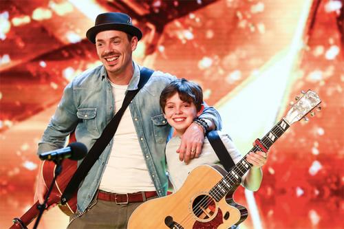 Hai bố con khiến giám khảo Britain's Got Talent bật khóc