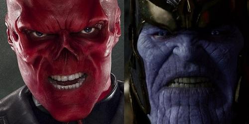 Red Skull dẫn đường cho Thanos tìm đá Vô cực trong phim mới.