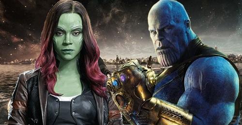 Gamora được Thanos nuôi dạy từ nhỏ và là người duy nhất hắn yêu thương.
