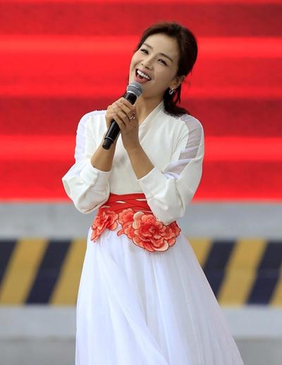Lưu Đào biểu diễn hôm 1/5 ở Bắc Kinh, Trung Quốc.