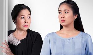 NSND Hồng Vân đóng vai mẹ Lê Phương