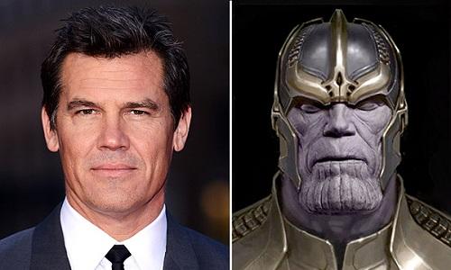 Josh Brolin hóa thân Thanos bằng phương pháp motion-capture (ghi lại các chuyển động trên mặt diễn viên, sau đó phối hợp với kỹ xảo để tạo hìnhnhân vật).