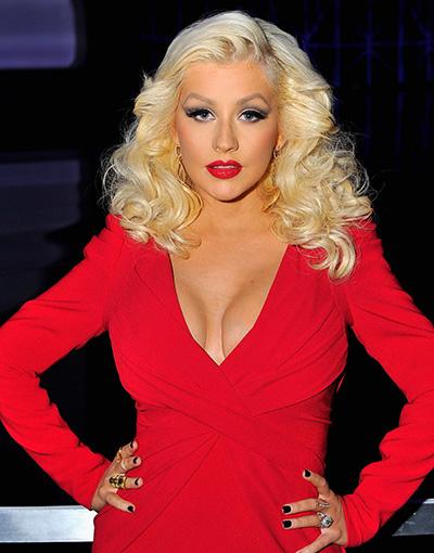 Ca sĩ Christina Aguilera. Ảnh: People.