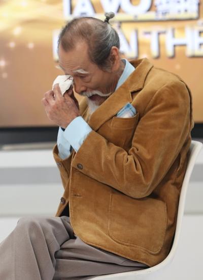 Mạnh Dung khóc khi nhắc đến chuyện tình 50 năm.