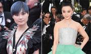 Phạm Băng Băng lép vế khi mặc váy 'bánh gato' lên thảm đỏ Cannes