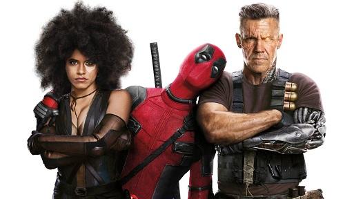 Domino (trái) và Cable (phải) là hai dị nhân sẽ tham gia Deadpool 2.
