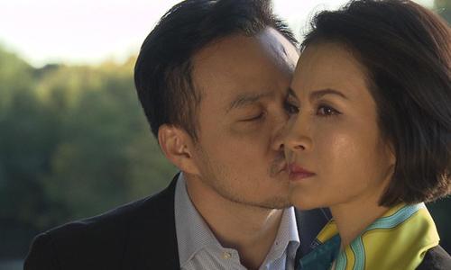 Chi Bảo (trái) và Thanh Mai trong Tình khúc bạch dương.