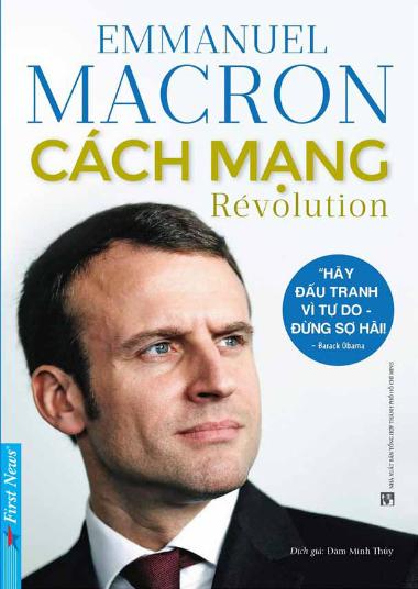 Bìa sách Cách mạng do First News ấn hành.