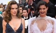 Cannes ngày 8: Dàn 'thiên thần' Victoria's Secret khuynh đảo với đầm hở ngực