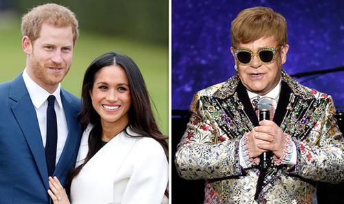 Elton John thân thiết với hoàng tử Williams và Harry từ nhỏ.