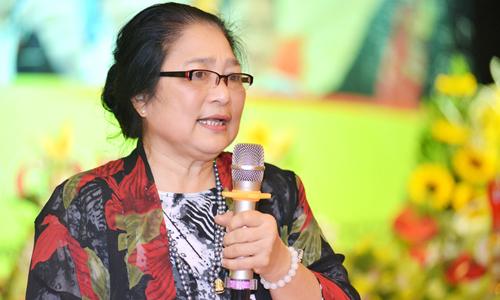 Nghệ sĩ Kim Xuyến.