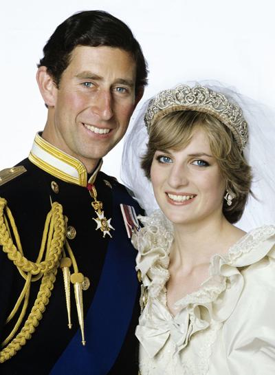 Thái tử Charles và Công nương Diana.