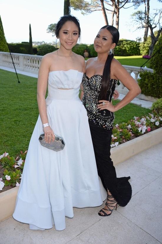 Fashionista Việt đọ váy với dàn mỹ nhân gợi cảm ở Cannes