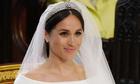 Meghan Markle trang điểm tự nhiên trong lễ cưới Hoàng tử Harry