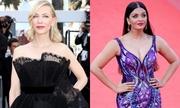 10 bộ cánh ấn tượng ở thảm đỏ Cannes 2018