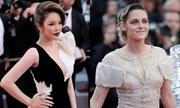 Cannes ngày cuối: Lý Nhã Kỳ diện đầm khoét ngực sâu bên sao quốc tế