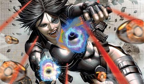 Domino trong truyện tranh Marvel.