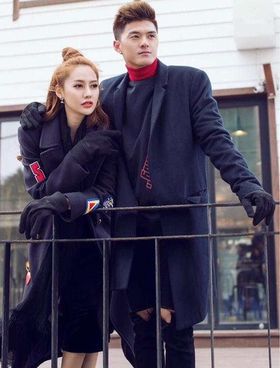 Linh Chi, Lâm Vinh Hải tình tứ ở Hàn Quốc