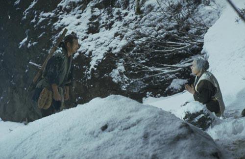 Cảnh phim Bài ca núi Narayama.