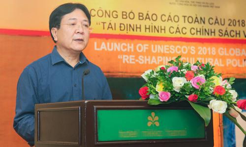 Ông Vương Duy Biên - Thứ trưởng Văn hóa, Thể thao và Du lịch.