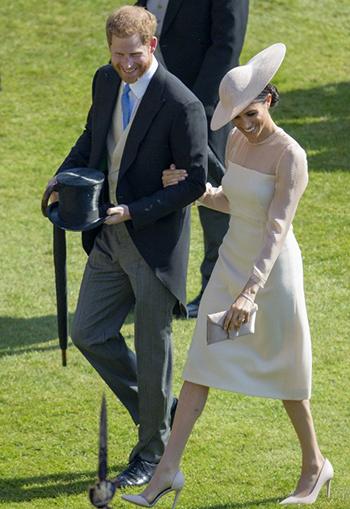 Meghan Markle và hoàng tử Harry.