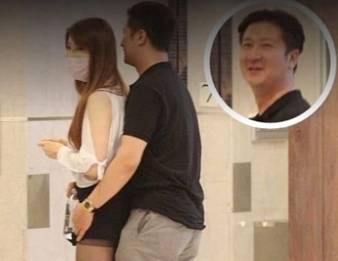 Dương Lệ Thanh và bạn trai doanh nhân hẹn hò hồi tháng 4.
