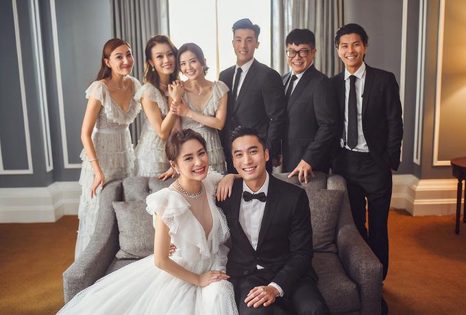 Nhà chồng vui mừng khi Chung Hân Đồng về làm dâu