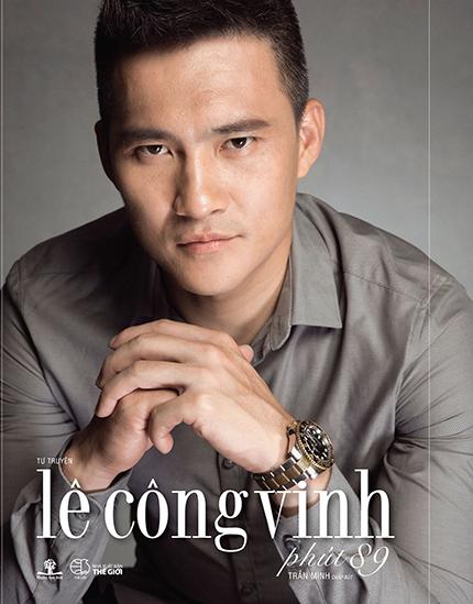 Bìa sách Phút 89 của Lê Công Vinh.