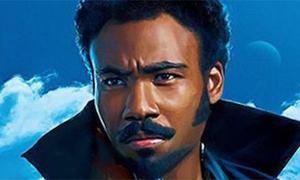 Nghệ sĩ da màu Mỹ tự tin về vai hài ở 'Star Wars ngoại truyện'