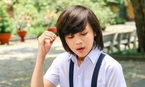Ca sĩ 13 tuổi viết nhạc về mùa tan trường