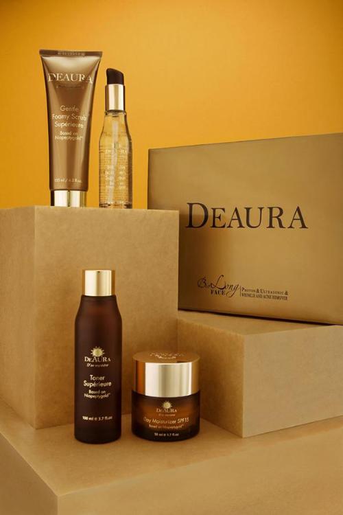 Những sản phẩm của Deaura sở hữu thiết kế sang trọng và tinh tế.