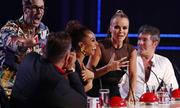 Khán giả lao lên sân khấu Britain's Got Talent quấy rối