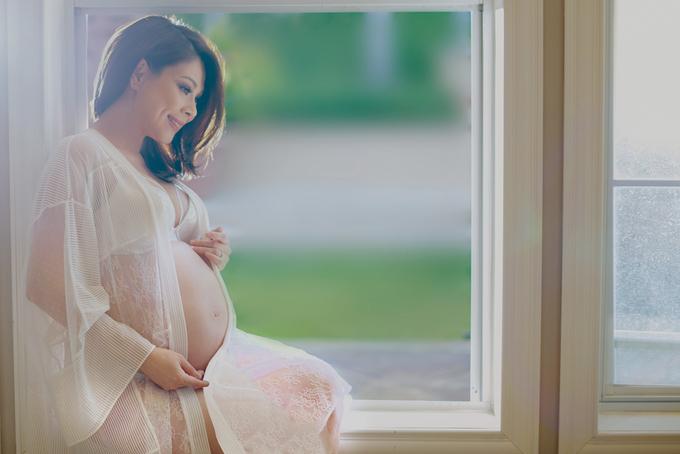 Thanh Thảo tăng tám kg khi mang thai