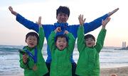 Con sinh đôi, sinh ba nổi tiếng của các sao châu Á