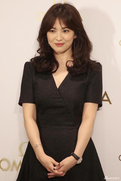 Song Hye Kyo tại sự kiện ở Hong Kong.