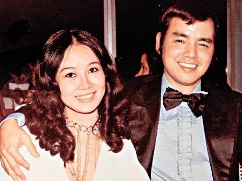 Lâm Yến Ni và chồng cũ Lý Trung Sâm.