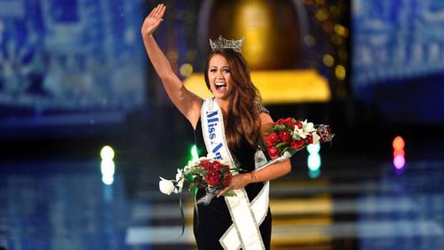Cara Mund - Hoa hậu Mỹ 2018.