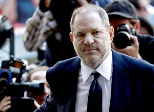 Harvey Weinstein xuất hiện tại tòa án. Ảnh: Rex.