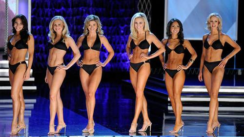 Phần thi bikini tại Miss America 2018.