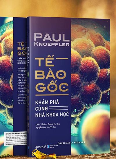 Bìa sách Tế bào gốc.