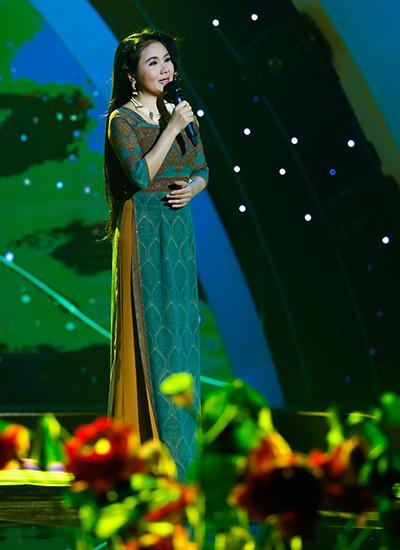 Nghệ sĩ Thanh Ngân.
