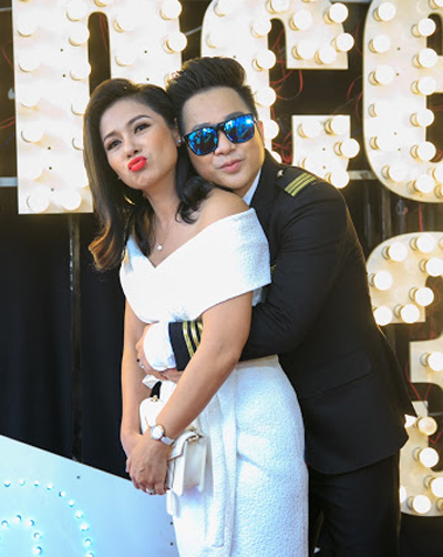 Việt Trinh và Quách Tuấn Du có mối quan hệ thân thiết.