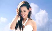 'Hoa hậu quyến rũ nhất Hàn Quốc' khoe sắc trên biển